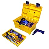 Plano 771000 Power Tool Box with Lift-Out Tray, 19', Yellow