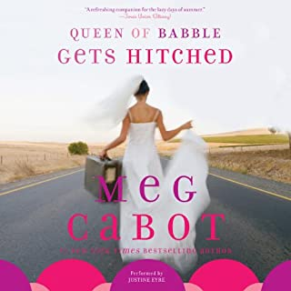 Queen of Babble Gets Hitched audiobook cover art