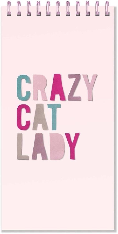 FRINGE STUDIO 957003 Cp Crazy Cat Notepad