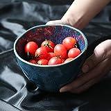 COOLSHOPY el Norte de Europa Utensilios domésticos Ensalada de Frutas tazón tazón de cerámica Hogar