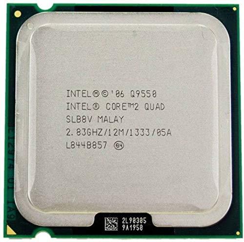 Intel Core Q95502,83GHz 12MB L2Prozessor–Prozessoren (2,83GHz, 1333MHz FSB), Intel Core 2Quad, 2,83GHz, LGA 775(Sockel T), PC, 45nm, Q9550