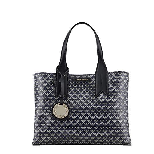 Emporio Armani Blu Ecru Nero Shopper Y3D153-YFG5A-83939