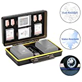 JJC XQD Card Holder Case for 2 XQD Cards with 2 Camera