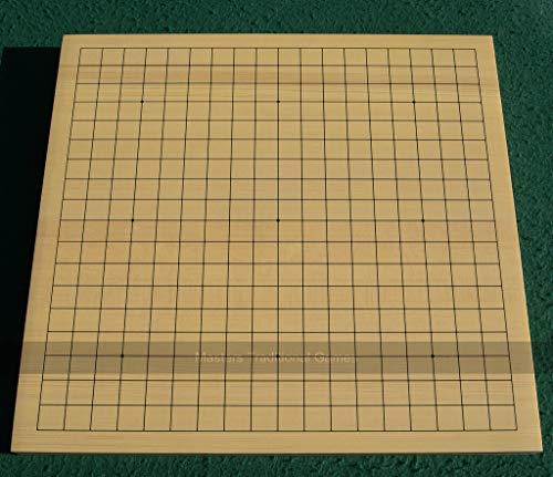 Masters Traditional Games Shin Kaya (Alaska Spruce) 3cm Table Go Board / Goban