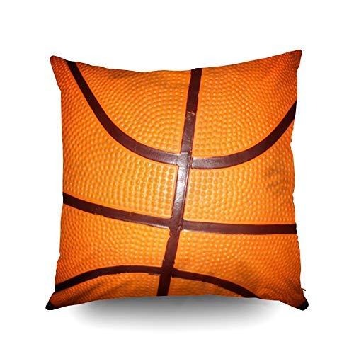 Funda de almohada navideña cuadrada estándar para cojín decorativo para el hogar, éxito en el juego, motivacional, elegante, simple, simple, con fotos, fundas de almohada nacionales de la NBA impresas