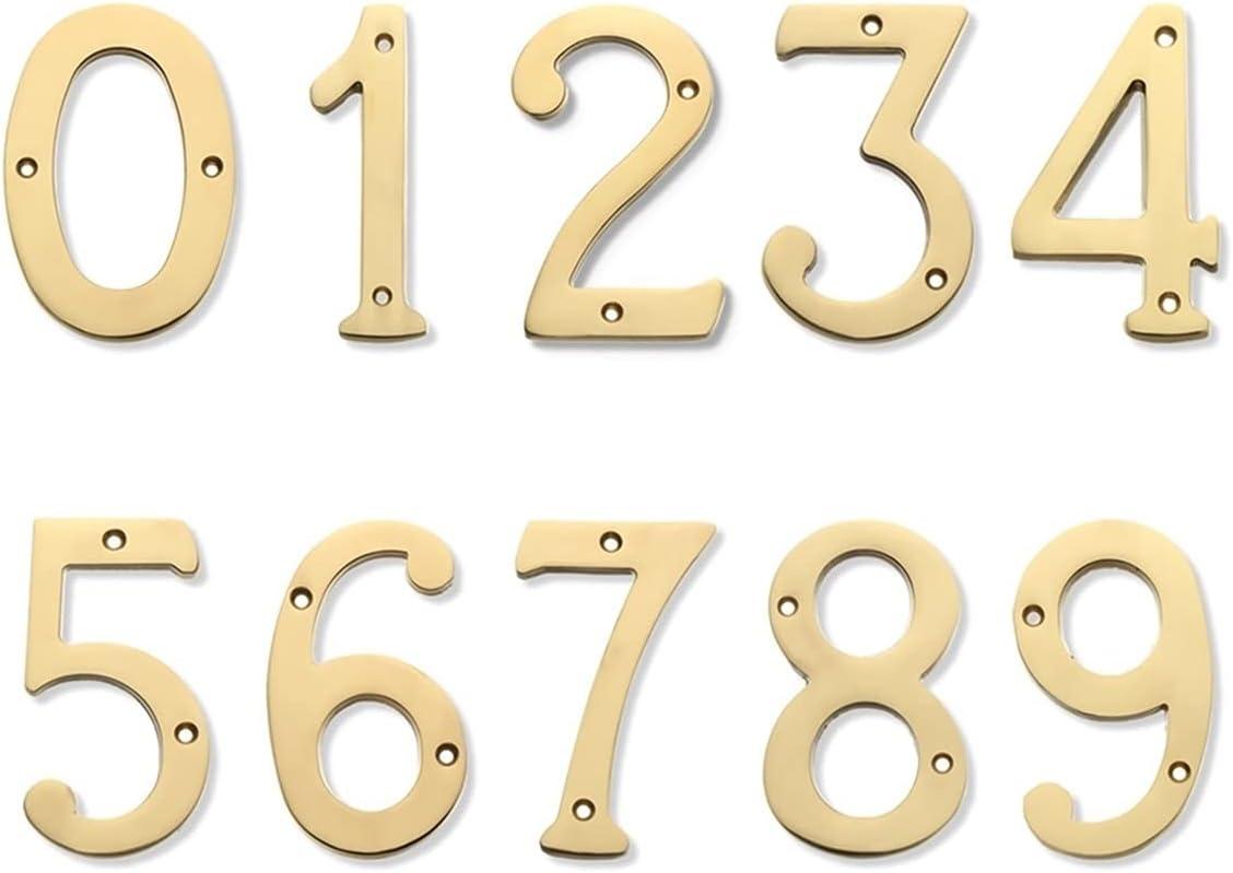 "Popular Translated product Useful 4"" 101mm Floating House Number Do Letters Big Modern"