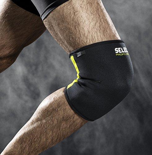 10er Paket Select Kniebandage Sportbandagen Bandagen -schwarz-, Größe:XL, Farbe:schwarz