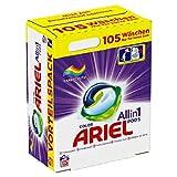 Ariel Detergente todo en 1 Pods (3 x 35 cm), 105 lavados