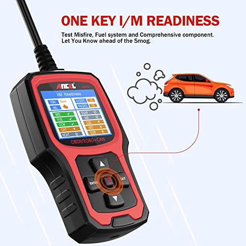 Ancel AD410 OBD II Vehicle Check Engine Light Scan Tool Automotive Code Reader Auto OBD2 Scanner wit