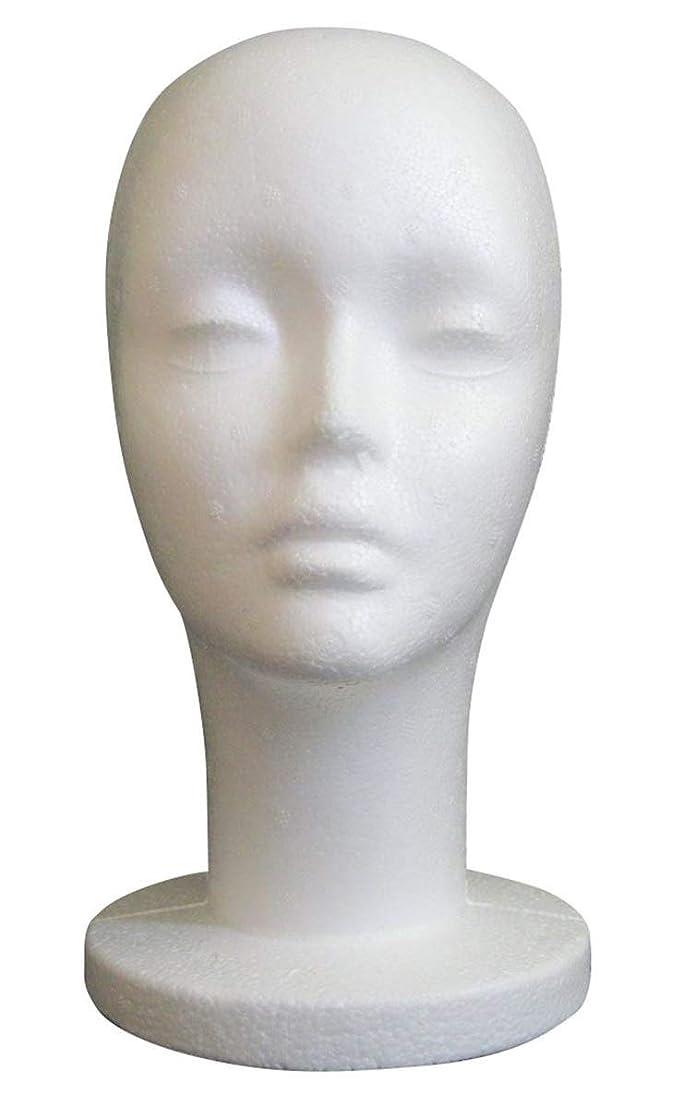 懐疑論爪書道GJTr マネキンヘッド マネキン ヘッド トルソー 頭 ウィッグ スタンド ディスプレイ 女性 女