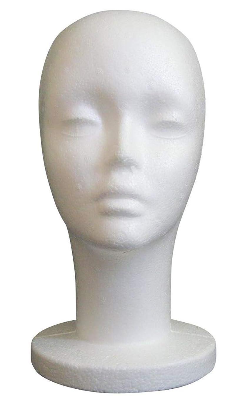クライストチャーチ移植発生GJTr マネキンヘッド マネキン ヘッド トルソー 頭 ウィッグ スタンド ディスプレイ 女性 女