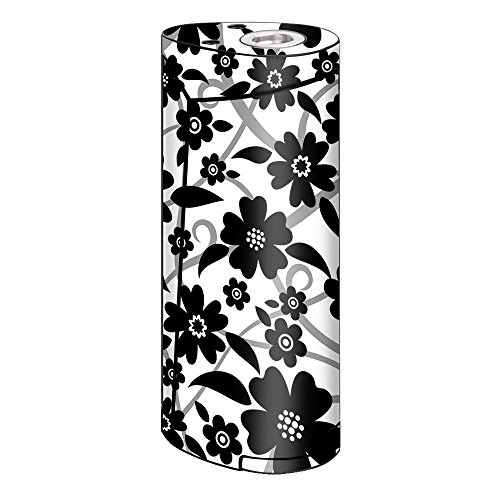 Skin Decal Vinyl Wrap for Smok Priv V8 60w Vape stickers skins cover/ Black white Flower Print