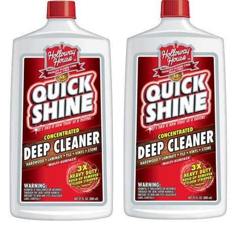 Quick Shine Concentrated Deep Cleaner; 27 oz. (Pack of 2)