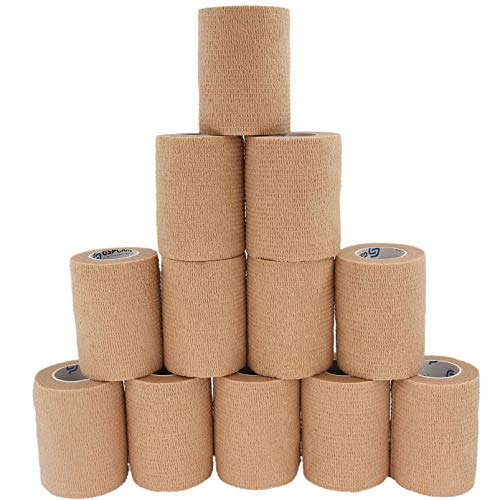 Self Adhesive Wrap Cohesive Bandages 12 Count 3