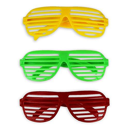 HC-Handel Lot de 12 paires de lunettes de soirée