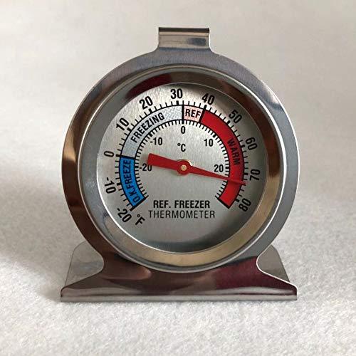 NAttnJf 1 Pc Durable Réfrigérateur Congélateur Thermomètre Réfrigérateur Type De Cadran Température Gadge Gadge