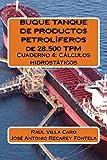 BUQUE TANQUE DE PRODUCTOS PETROLÍFEROS de 28.500 TPM: Cuaderno 4: Cálculos hidrostáticos: Volume 4