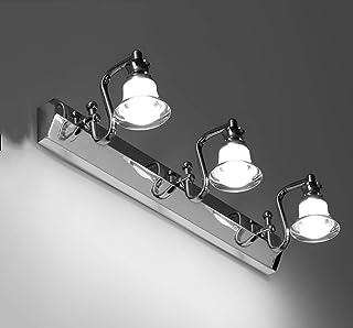 Lluminated متألق Creative Bath Mirror Lamps Living Room Wall Lamp Mirror Front Light Led Toilet Bathroom Waterproof Moisture Proof Lamp Mirror Cabinet Makeup Lamp Mirror Headlight Wall Light Luminesce