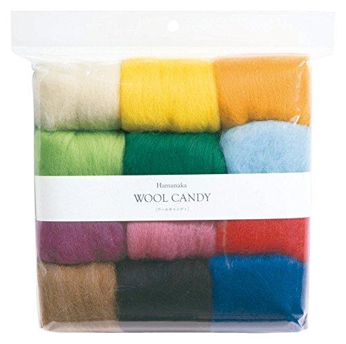 ハマナカ ウールキャンディ12色セット(ベーシックセレクション)#1 H441-122-1