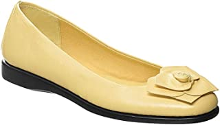 Angel Flex Women's Adult Rose Flat Synthetic Flats Shoes Casual Shoes