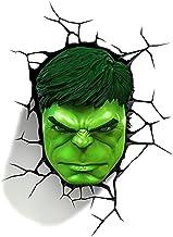 MX Bracket Light Wall lamp - Avengers Hulk mask 3D Creative Wall lamp led Small lamp Bedside lamp Night Light Lighting @ (...