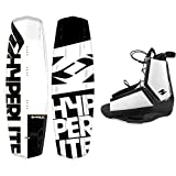 Hyperlite Wakeboard Agent 2019 with Destroyer Wakeboard Bindings Fits Most Shoe Sizes (142 cm)
