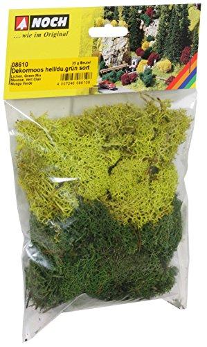 Sacchetto Muschio e lichene Verde Misto 35 gr