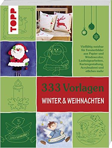 NEU Buch 333 Vorlagen Winter & Weihnachten
