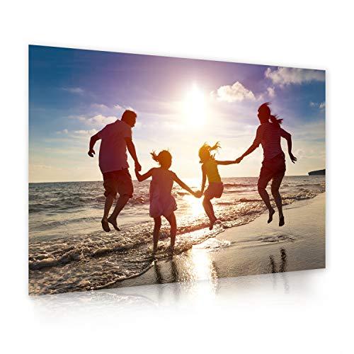 Ihr eigenes Foto als XXL Poster drucken lassen | 140cm x 100cm | erstellen Sie eigene Urlaubs, Familien oder Hochzeits-Bilder, direkt auf Amazon konfigurieren | Premium Druck-Qualität 200g Fotopapier