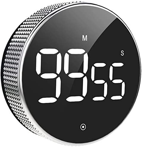 Digital Kitchen Timer Large LED Magnetic Countdown timers with Constant Bright Function for product image