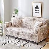 ASCV Elastic Sofa Schonbezüge All-Inclusive Couchbezug L-förmige Ecksofabezüge für Wohnzimmer...
