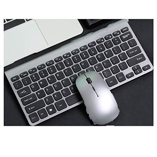 Portátil Ratón inalámbrico Mute Mute USB USB Ratón inalámbrico Optico Optico COMPUTADORA + Teclado (incluida la batería) (con Puerto USB), Adecuado para Windows 10/8/7 / XP/Mac/MacBook Pro/Air