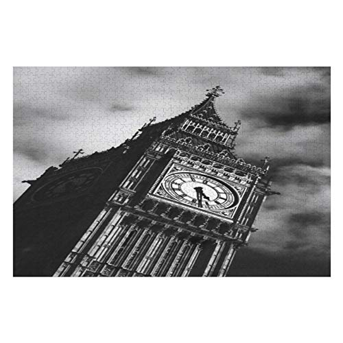 300 Pieces Jigsaw Puzzles For Teens & Adults The Big Ben Difficult & Intelligent Challenge Game