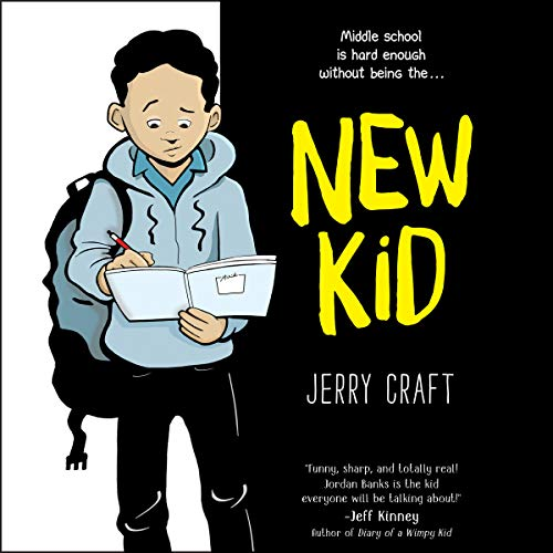 New Kid audiobook cover art