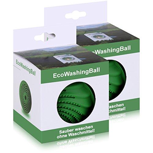 SCANPART Waschkugel EM biologischer Waschball effektive mikroorganismen(2er Pack)