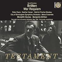 Britten: War Requiem by City of Birmingham Symphony Orchestra (2013-12-10)
