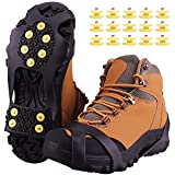 Ice Snow Grips,Anti Slip Winter Ice Grippers Snow Traction Cleats Crampons Spikers Ice Traction Slip on Boots...
