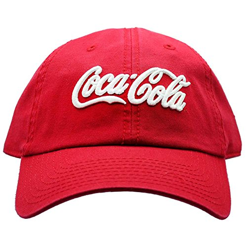 American Needle X Coca-Cola Washed Raglan Hat in Red/White