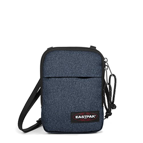 Eastpak Bandolera Buddy, Bolso Bandolera, Blue (Double Denim), 0.5 litros