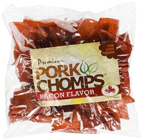 Scott Pet Products Pork Chomps Bacon Chipz Treat, 12 Oz