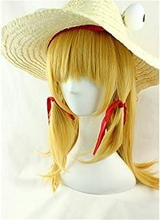 東方Project とうほうプロジェクト 洩矢諏訪子 もりやすわこ 帽子なし 風 コスプレウィッグ cosplay wig 耐熱 かつら イベント 仮装用 専用ネット付け