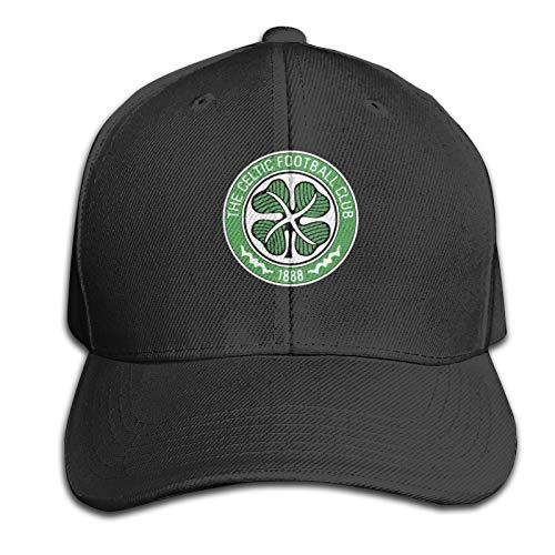 ChenJia Celtic Fc Unisex Baseball Cap Adjustable Trucker Hat Black