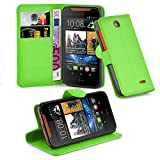 Cadorabo Book Case works with HTC Desire 310 in MINT GREEN