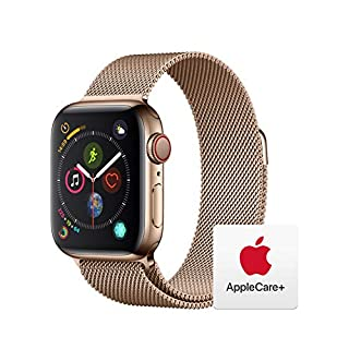 Apple Watch Series 4 (GPS + Cellular, 40mm) - Gold Aluminum Case with Pink Sand Sport Band with AppleCare+ Bundle (B07RK4QL4J) | Amazon price tracker / tracking, Amazon price history charts, Amazon price watches, Amazon price drop alerts