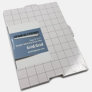4 Pack Gaming Paper Wet/Dry Erase Tiles 1