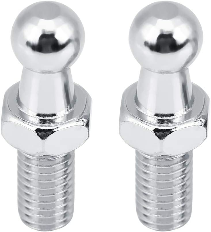 KIMISS 2 pcs Car Stainless Steel M8 Bolt Stud Strut for Challenge the lowest price of Special Campaign Japan ☆ Ball Gas
