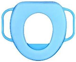 Cisne 2013, S.L. Tapa Asiento para Inodoro para niños con reposabrazos Antideslizante. Reductor Inodoro niño WC. Medidas 25x25cm. Color Azul.