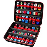 Toy Storage Organizer Case for Hot Wheels Car, Matchbox Cars, Portable Carrying Container Carrier Holder Fit for 36 Hotwheels Car (Box Only)