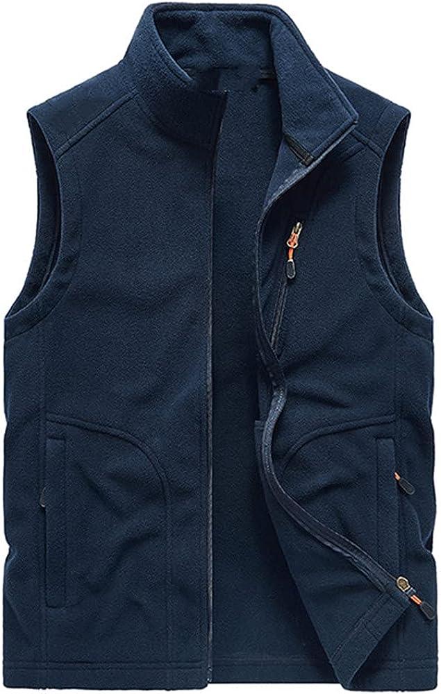 Men Vest Winter Hooded Sleeveless Waistcoat Autumn Casual Vest