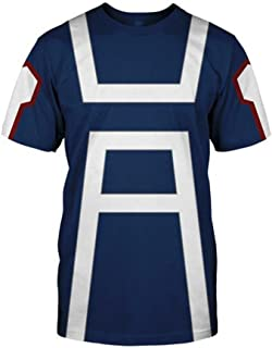 My Hero Academia T-Shirt Hoodie Jacket Todoroki Shoto Cosplay Costume